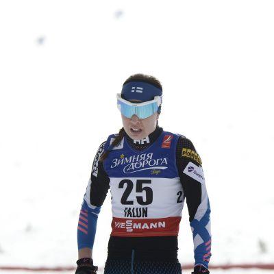 Kerttu Niskanen snabbaste finska damen,