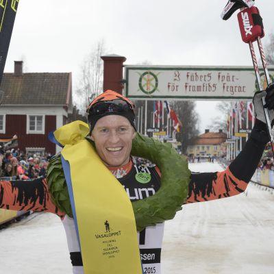 Petter Eliassen vann herrarnas Vasaloppet.