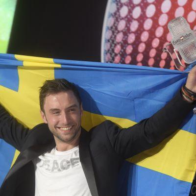 Måns Zelmerlöw vann ESC år 2015.