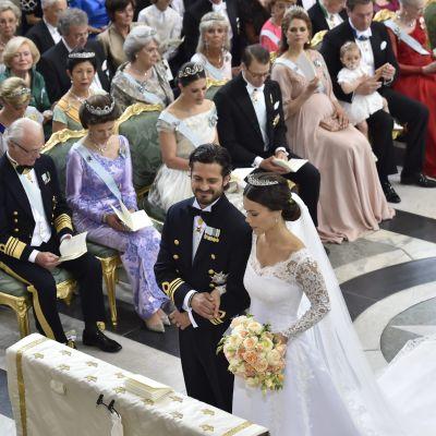 Prinsbröllop i Stockholm