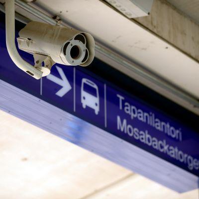 mosabacka, tapanila, övervakningskamera