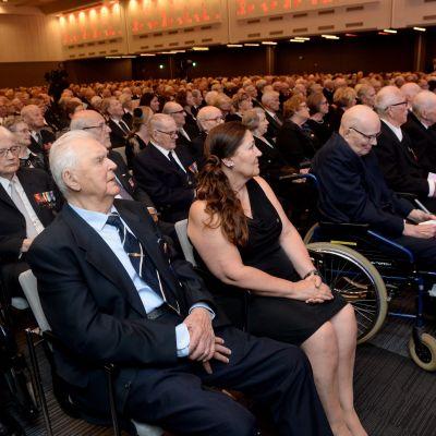 Krigsinvalidernas brödraförbunds 75 års fest
