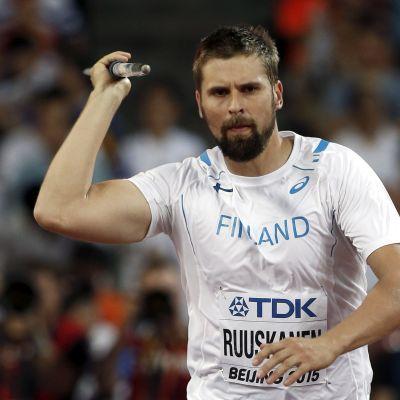 Antti Ruuskanen, VM i Peking 2015.