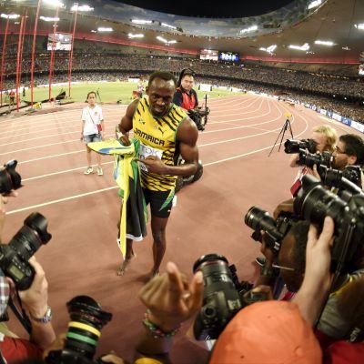 Usain Bolt, VM i Peking 2015.