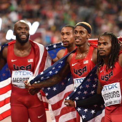 USA firar guld