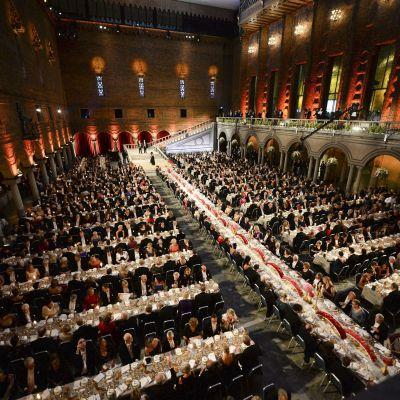 Nobelmiddag efter Nobelprisutdelningen 2014