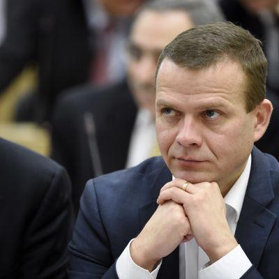 Inrikesminister Petteri Orpo (Saml).