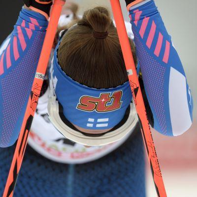 Kerttu Niskanen står över Lahtisspelen.