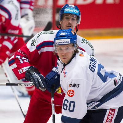 Markus Granlund var strålande mot Tjeckien.