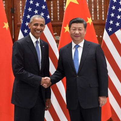 Kina och USA ratificerar klimatavtalet