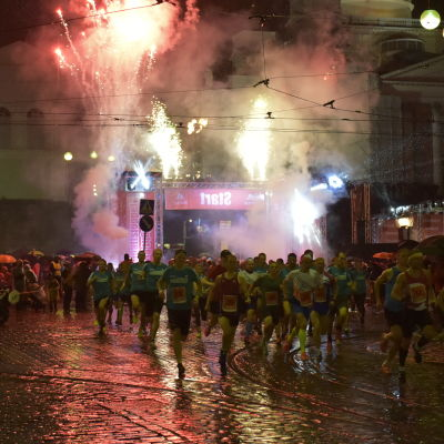 Midnight Run 2016 i Helsingfors.