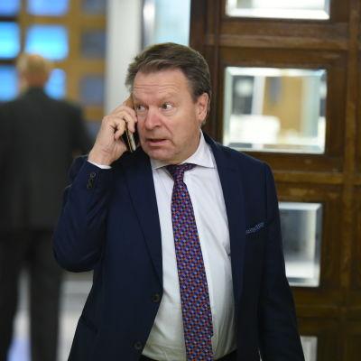 Ordföranden för riksdagens försvarsutskott Ilkka Kanerva