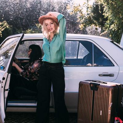 Lisa Ekdahl på väg på turné.