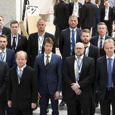 Fotbollsligaklubbarnas chefstränare säsongen 2017.