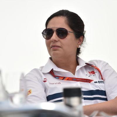 Monisha Kaltenborn fick gå från Sauber.