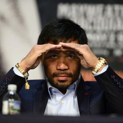 Manny Pacquiao, maj 2015.