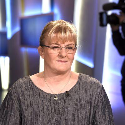 Social- och hälsovårdsminister Pirrko Mattila (Blå)