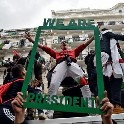 Demonstration i Algér