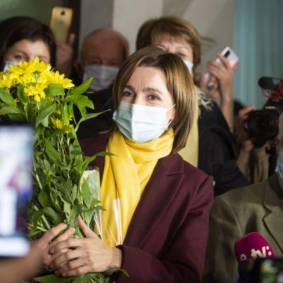 Länsimielinen ja korruptionvastaisuudella kampanjoinut Maia Sandu on voittanut Moldovan presidentinvaalit.