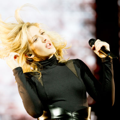 Den brittiska artisten Ellie Goulding.