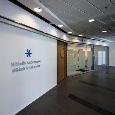 Mikkelin taidemuseon väistötilat Kauppakeskus Akselissa