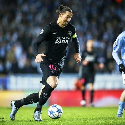 Zlatan Ibrahimovic och Jo Inge Berget