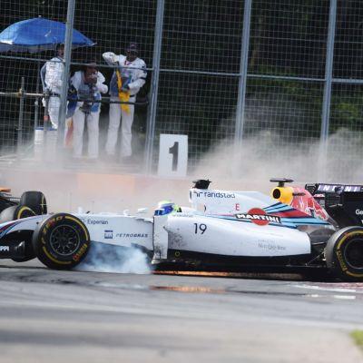Felipe Massa och Sergio Perez