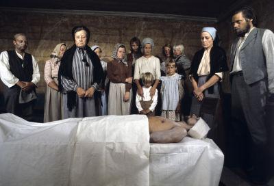 Begravning i Storsmkärs Maja