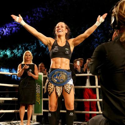 Eva Wahlström, boxare