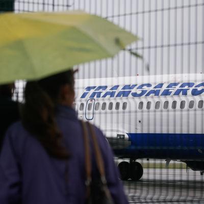 Flygplatsen i Kiev.