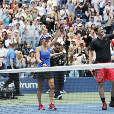 Hingis och Murray vann US Open 2017.