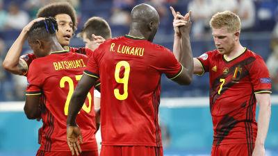 Romelu Lukaku, Kevin Bruyne firar mål.