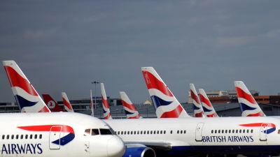 British Airways flygplan