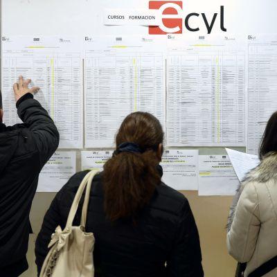Espanja työttömyys