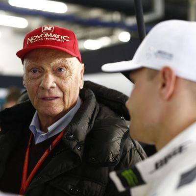Niki Lauda och Valtteri Bottas