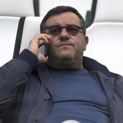 Mino Raiola är Zlatans agent.