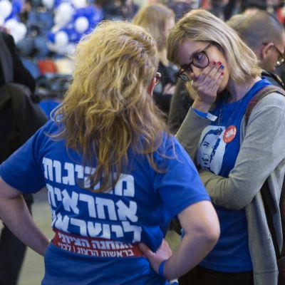 Reaktioner efter parlamentsvaletvalet i Israel 17.3.2015