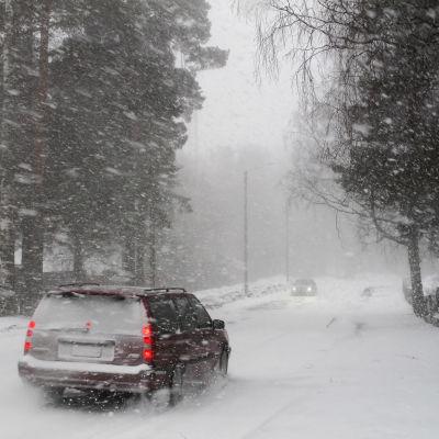 Travgatan i Vasa, lördag eftermiddag 02.03.13