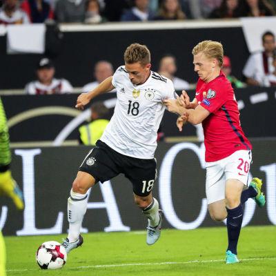 Närkamp under Tyskland-Norge.