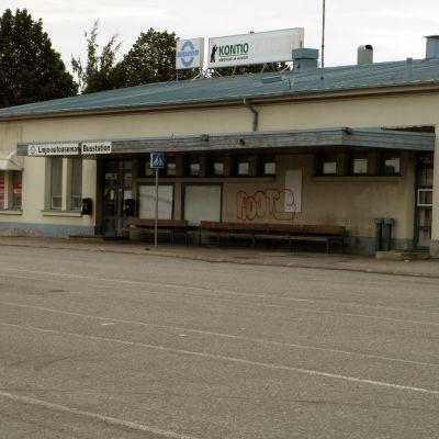 Busstationen i Vasa