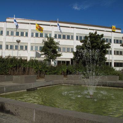 Stadshuset i Karleby.
