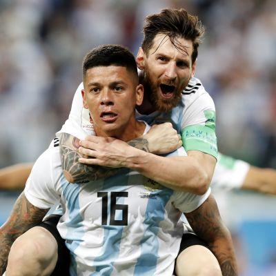 Parhaat palat: Argentiina jatkoon dramaattiseen tyyliin