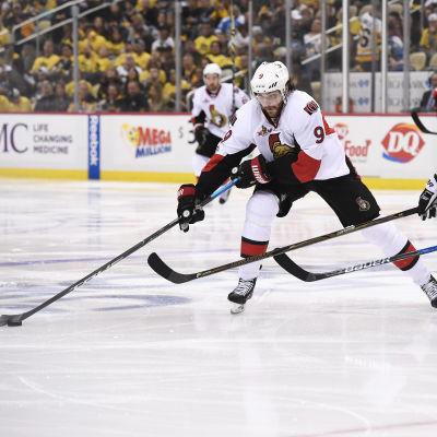 Bobby Ryan blev segerskytt när Ottawa slog Pittsburgh efter förlängning.