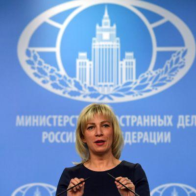 Det ryska utrikesministeriets talesperson Maria Zacharova
