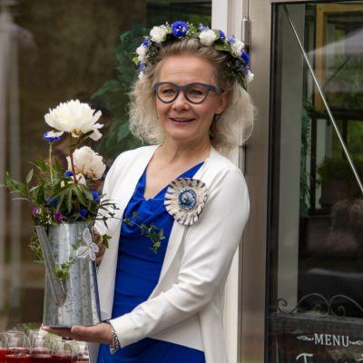 Tämän vuoden Kukkaispormestariksi on valittu Tampere-talon toimitusjohtaja Pauliina Ahokas