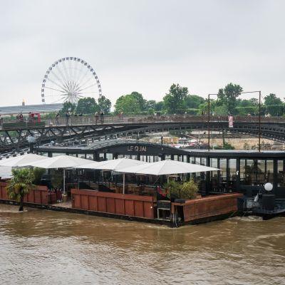 Vattennivån i floden Seine har stigit över fem meter.