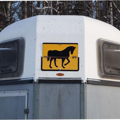 Vagn för hästtransport