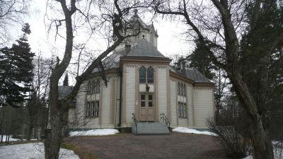 Kyrkan i Strömfors.