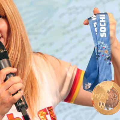 Guldmedaljen i Sotji-OS 2014