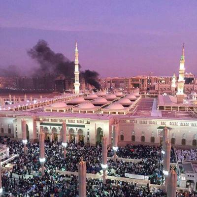 Profetens moské i Median hör till islams mest heliga platser.